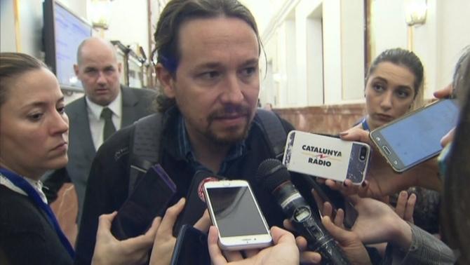 Pablo Iglesias anuncia un recurs al Constitucional contra el 155