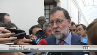 Rajoy, optimista davant la probable aprovació dels pressupostos