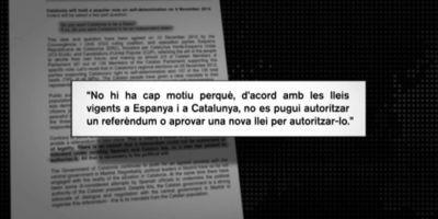 Jorge Fernández Díaz considera absurda la carta de la Generalitat a líders europeus i acusa Mas de fracturar famílies i amics