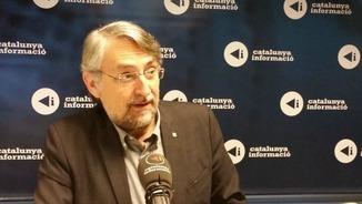 El director general d'Afers Religiosos de la Generalitat, Enric Vendrell, en un moment de l'entrevista.