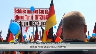 Fracassa el poder de convocatòria al carrer de l'ultranacionalista Alternativa per Alemanya (AfD)