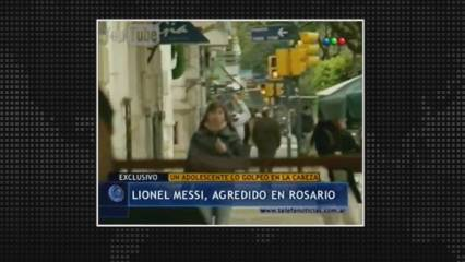 L'intent d'agressió a Messi