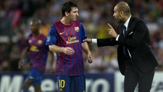 Leo Messi i Pep Guardiola