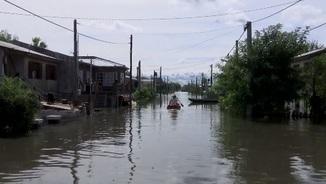 Inundacions a Villa Paranacito (APTN)