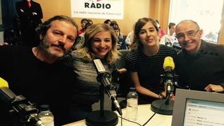 Pep Munné, Anna Moliner, Paula Màlia i Manel Barceló