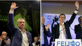 Iñigo Urkullu i Alberto Núñez Feijóo (Reuters/EFE)