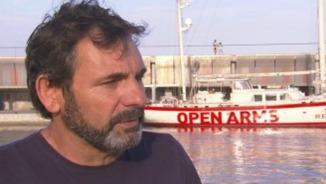 """Òscar Camps [Open Arms]: """"S'ha posat les ONG com a causa de la crisi migratòria. Se'ns acusa de tot"""""""