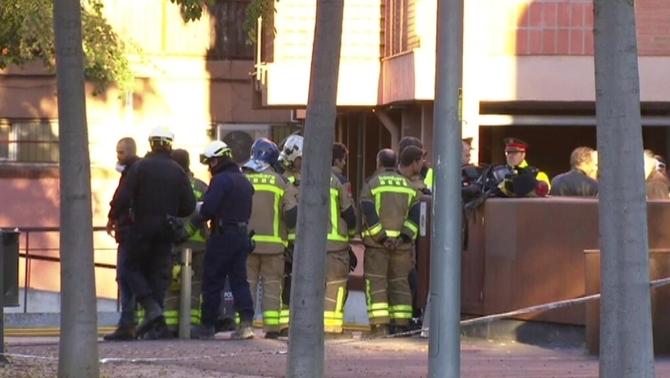 Un mort per una explosió provocada en un aparcament de Viladecans