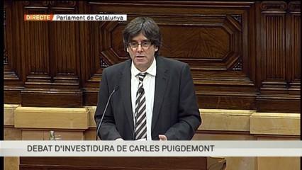 Rèplica de Carles Puigdemont a les intervencions dels grups parlamentaris