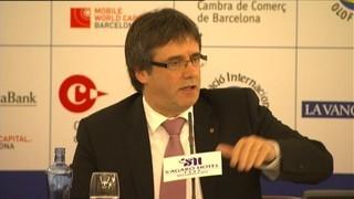 Puigdemont defensa, a s'Agaró, no tenir por del canvi