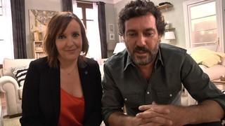 """La Gemma (Àurea Márquez) i l'Andreu (Marc Cartes), a """"Com si fos ahir"""""""