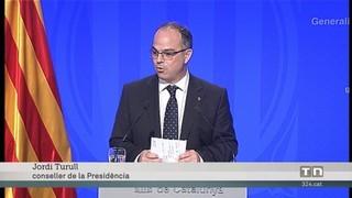 El govern no dona detalls de la compareixença de Puigdemont perquè assegura que li correspon al president