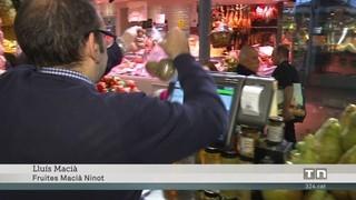 """Els mercats municipals s'apunten a la compra """"on-line"""""""