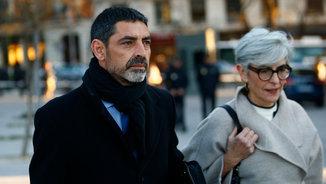 El major Josep Lluís Trapero davant l'Audiència Nacional el 23 de febrer (ACN)