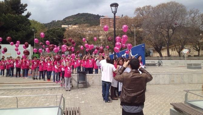 Un cel ple de globus per lluitar contra les immunodeficiències primàries