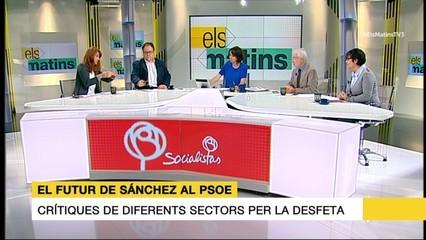 Tertúlia del 26/09/16 (part 2) sobre el futur de Sánchez al PSOE