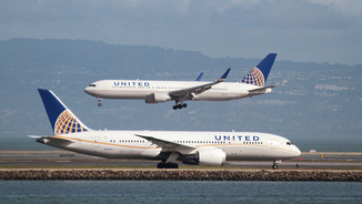 Avions d'United Airlines