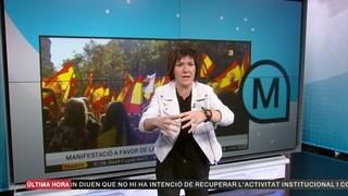 "Empar Moliner: ""Ahir anar en metro (a Barcelona) feia por"""