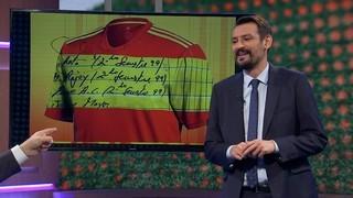 L'Òscar i la nova samarreta de la selecció espanyola