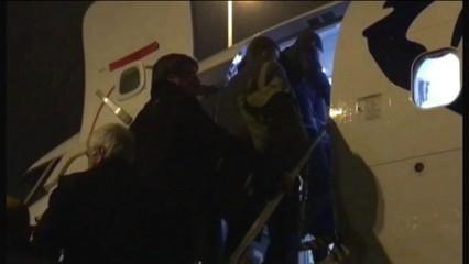 Puigdemont embarca a l'avió que viatja a Copenhaguen