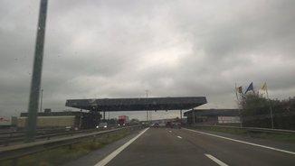 Imatge d'una autopista europea que ha penjat Ferran Civit a Twitter