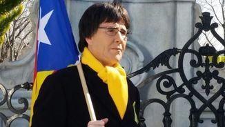 Joaquín Reyes disfressat de Carles Puigdemont (Vertele/eldiarioes)