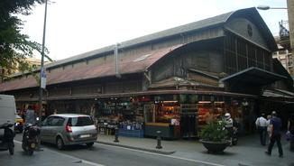 Mercat de l'Abaceria, a Gràcia