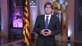 Missatge institucional del president de la Generalitat