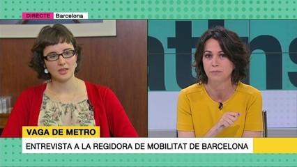 """Mercedes Vidal, presidenta de TMB: """"És un conflicte complex, en què costa molt arribar a acords, però ho aconseguirem"""""""