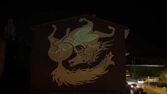 El Milestone Project transforma artísticament tres façanes de Girona amb murals de gran format
