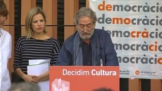3.000 professionals de la cultura firmen un manifest favorable al referèndum