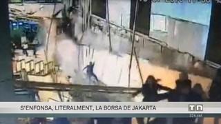S'ensorra la Borsa de Jakarta