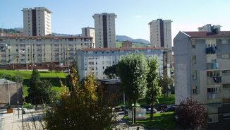 Barri d'Otxarkoaga, a Bilbao, on han trobat la parella morta