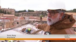 El convent de clausura de les clarisses de Tortosa emprèn la rehabilitació després que l'any passat s'esfondrés