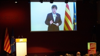 """Puigdemont: """"Per què un jutge té més poder que dos milions de catalans?"""""""