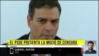 "Gabriel Rufián: ""Pedro Sánchez fa dos anys que no ens truca"""