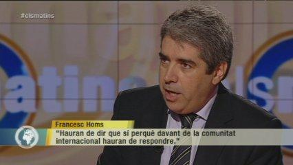 """Homs: """"No podran tombar el poble de Catalunya"""""""