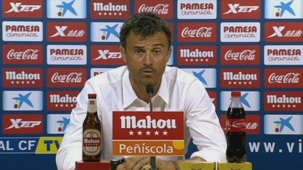 Luis Enrique parla al Madrigal