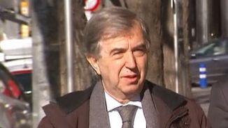 Miquel Vilardell, expresident del Col·legi de Metges de Barcelona, és un dels primers a declarar