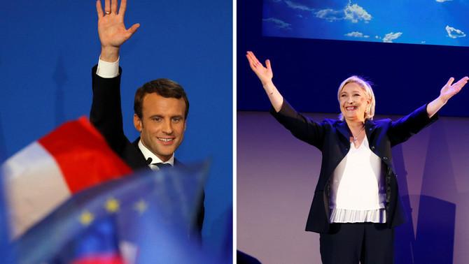 Macron i Le Pen