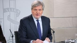 El ministre portaveu del govern espanyol, Íñigo Méndez de Vigo
