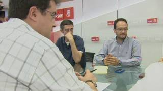 "Reaccions de Rubalcaba i Floriano al ""cas Bárcenas"""