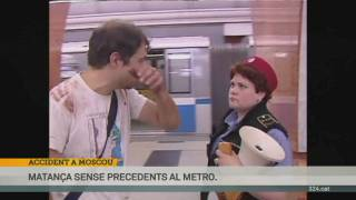 Accident al metro de Moscou