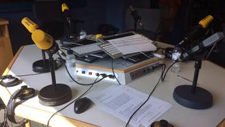 L'estudi principal de Catalunya Ràdio