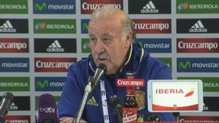 Del Bosque vol fer proves