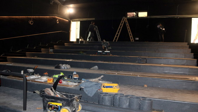 Igualada inaugurarà la nova sala de cinema durant la primera quinzena de desembre