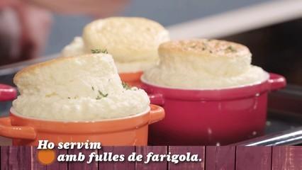 Suflé de formatge en un minut