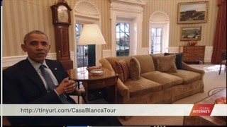 Un tour virtual per la Casa Blanca amb Obama