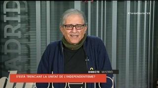 """Ramón Cotarelo: """"La unitat de l'independentisme ni s'ha trencat ni es trencarà"""""""