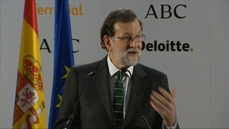 Mariano Rajoy, aquest dijous al Foro ABC a Madrid
